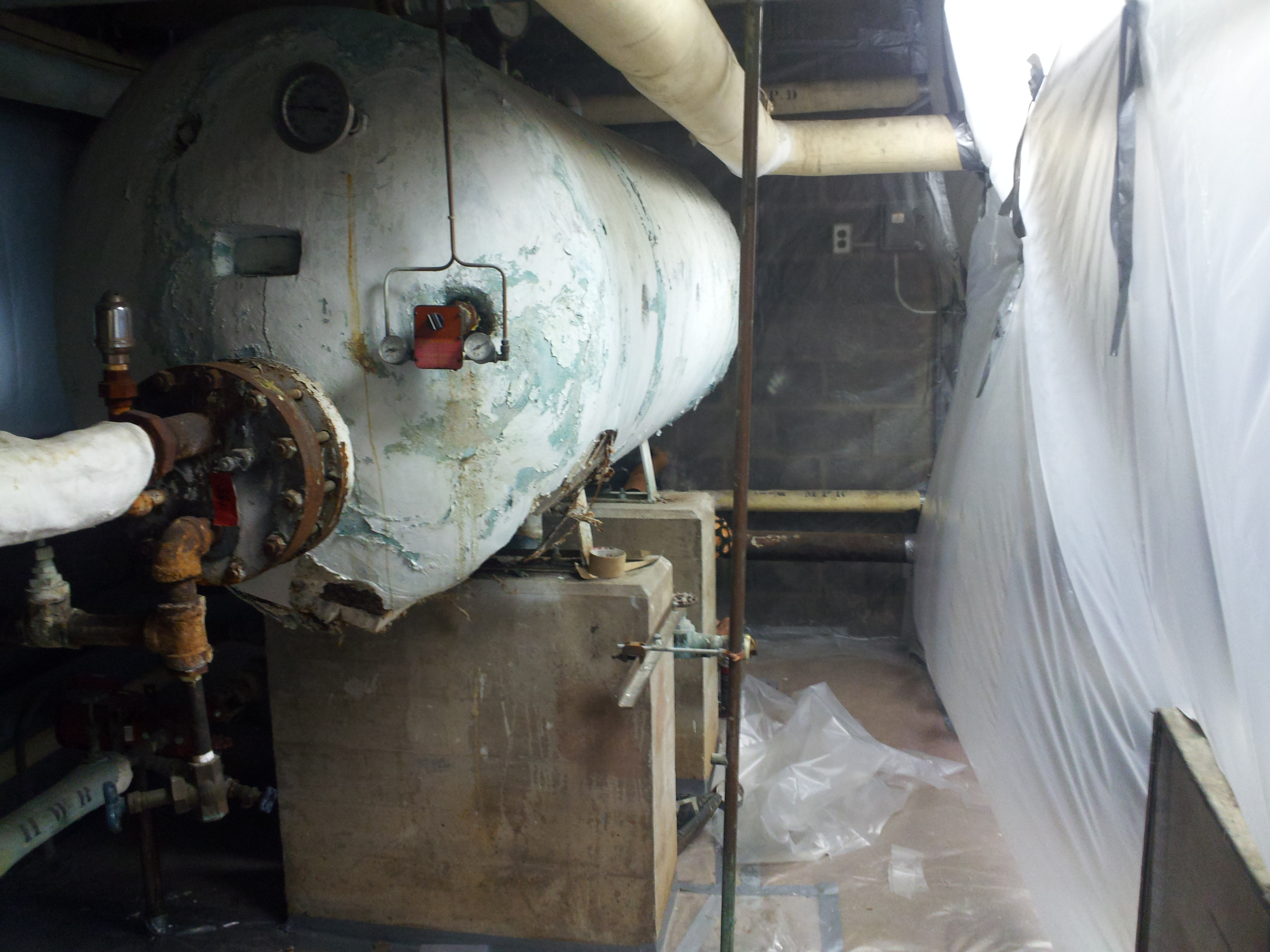 Water Tank Insulation : Photos alm abatement services llc